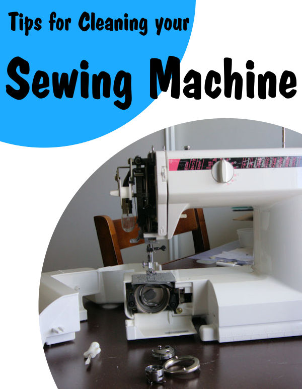 Tips for cleaning your sewing machine