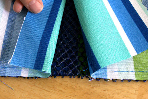 Gap between stitching start and finish
