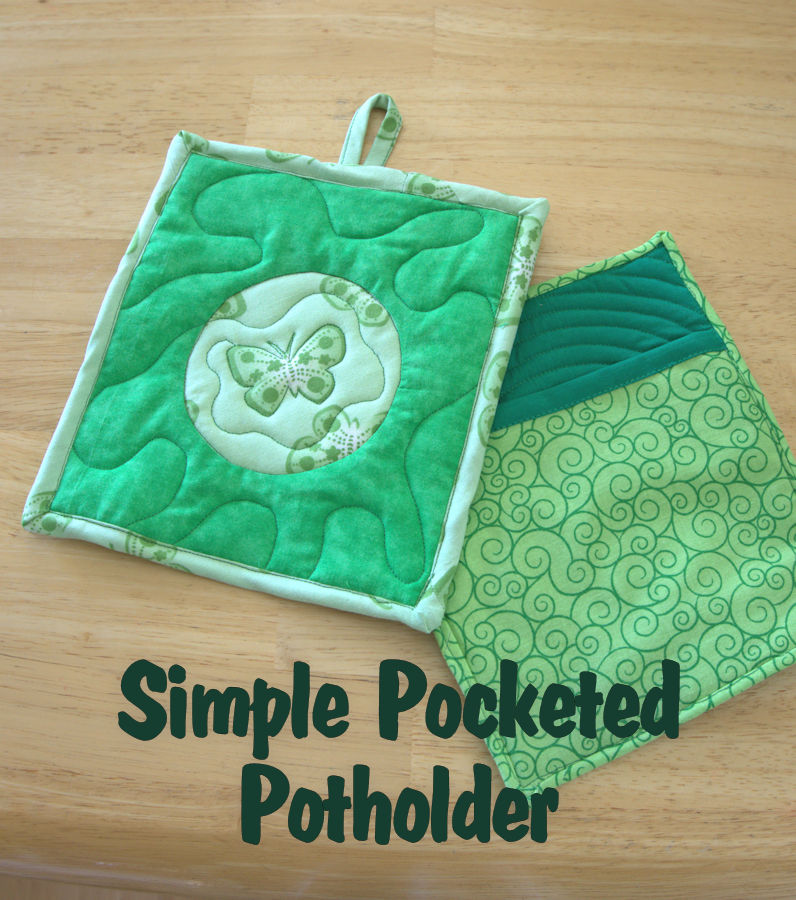 Simple Pocketed Potholder