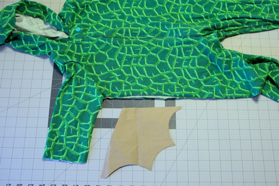 Cut out paper wing template by pajamas