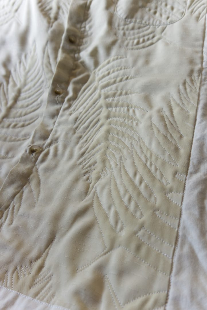 Quilted leaf shirt